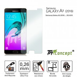 Samsung Galaxy A3 (2016) - Vitre de Protection Crystal - TM Concept®