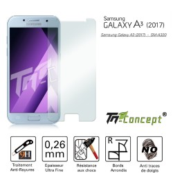 Samsung Galaxy A3 (2017) - Vitre de Protection Crystal - TM Concept®