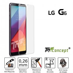 LG G6 - Vitre de Protection Crystal - TM Concept®