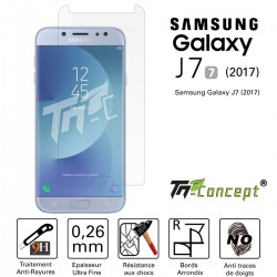 Samsung Galaxy J7 (2017) - Vitre de Protection Crystal - TM Concept®