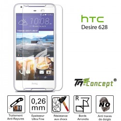 HTC Desire 628 - Vitre de Protection Crystal - TM Concept®