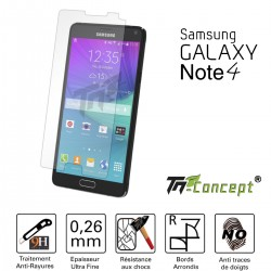 Samsung Galaxy Note 4 - Vitre de Protection Crystal - TM Concept®