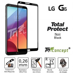 LG G6 - Vitre de Protection - Total Protect - TM Concept®