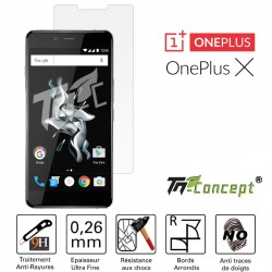 OnePlus X - Vitre de Protection Crystal - TM Concept®