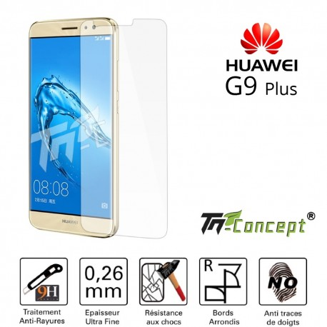 Huawei G9 Plus - Vitre de Protection Crystal - TM Concept®