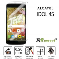 Alcatel Idol 4S - Vitre de Protection Crystal - TM Concept®