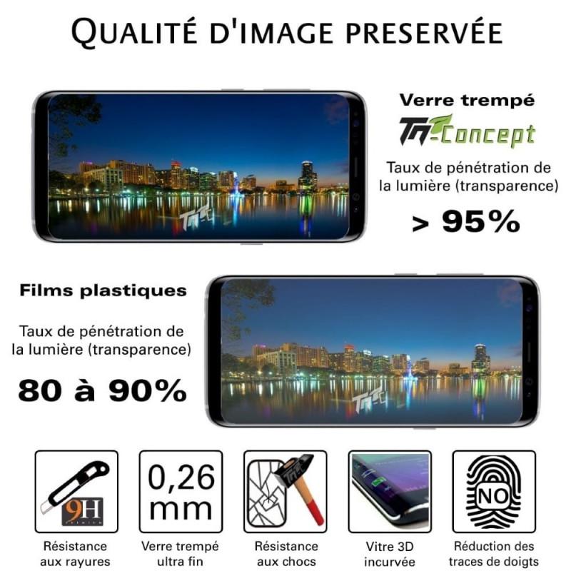 Alcatel Idol 4S - Vitre de Protection Crystal - TM Concept®