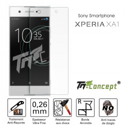 Sony Xperia XA1 - Vitre de Protection Crystal - TM Concept®