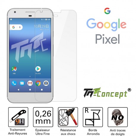 Google pixel - Vitre de Protection Crystal - TM Concept®