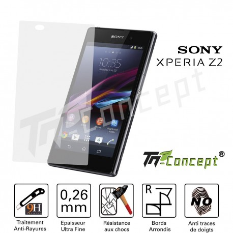 Sony Xperia Z2 - Vitre de Protection Crystal - TM Concept®