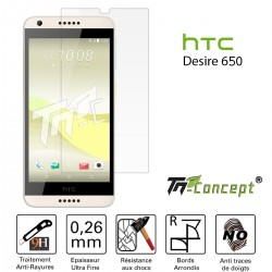 HTC Desire 650 - Vitre de Protection Crystal - TM Concept®