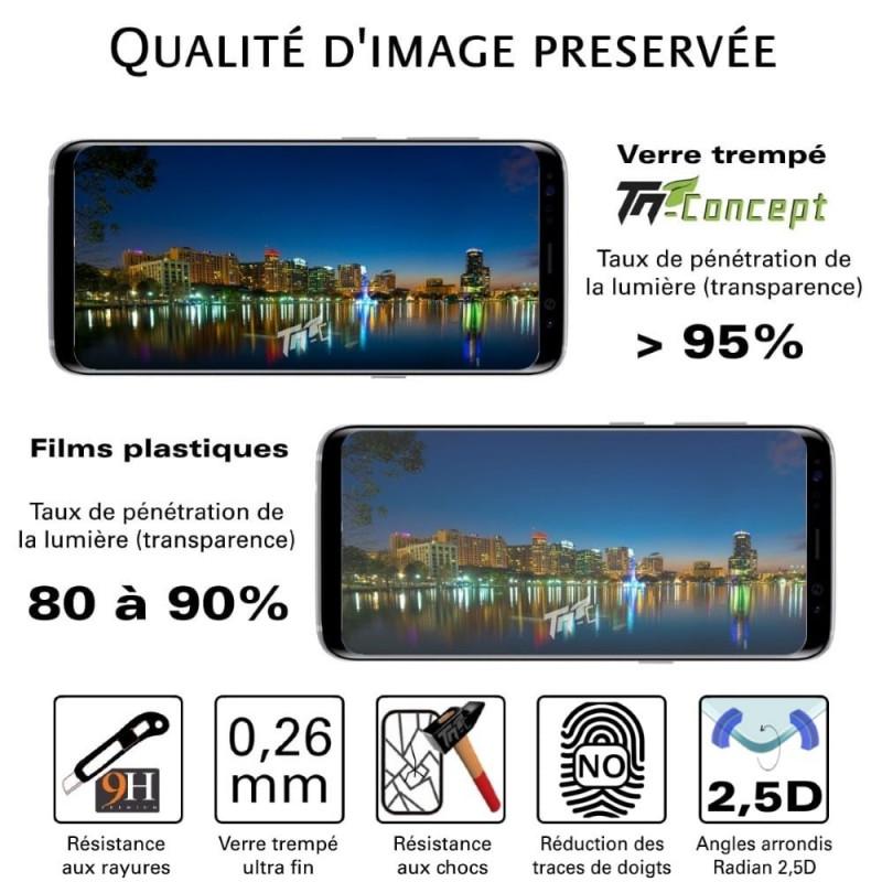 HTC Desire 650 - Vitre de Protection Crystal - TM Concept®
