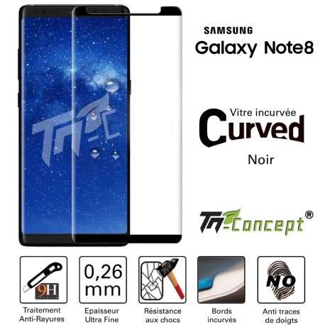 Samsung Galaxy Note 8 - Vitre de Protection 3D Curved - TM Concept®
