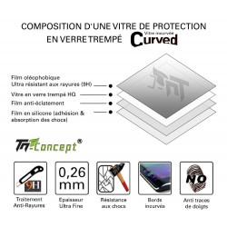 Samsung Galaxy A7 (2017) - Vitre de Protection - Total Protect - TM Concept®