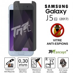 Samsung Galaxy J5 (2017) - Vitre de Protection Anti-Espions - TM Concept®