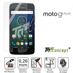 Motorola Moto G5 Plus - Vitre de Protection Crystal - TM Concept®