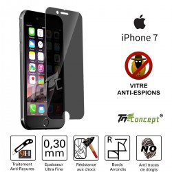 Apple iPhone 7 - Vitre de Protection Anti-Espions - TM Concept®