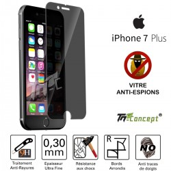 Apple iPhone 7 Plus - Vitre de Protection Anti-Espions - TM Concept®
