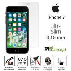 Apple iPhone 7 - Vitre de Protection Ultra Slim 0,15 mm - TM Concept®