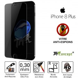 Apple iPhone 8 Plus - Vitre de Protection Anti-Espions - TM Concept®