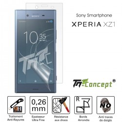 Sony Xperia XZ1 - Vitre de Protection Crystal - TM Concept®