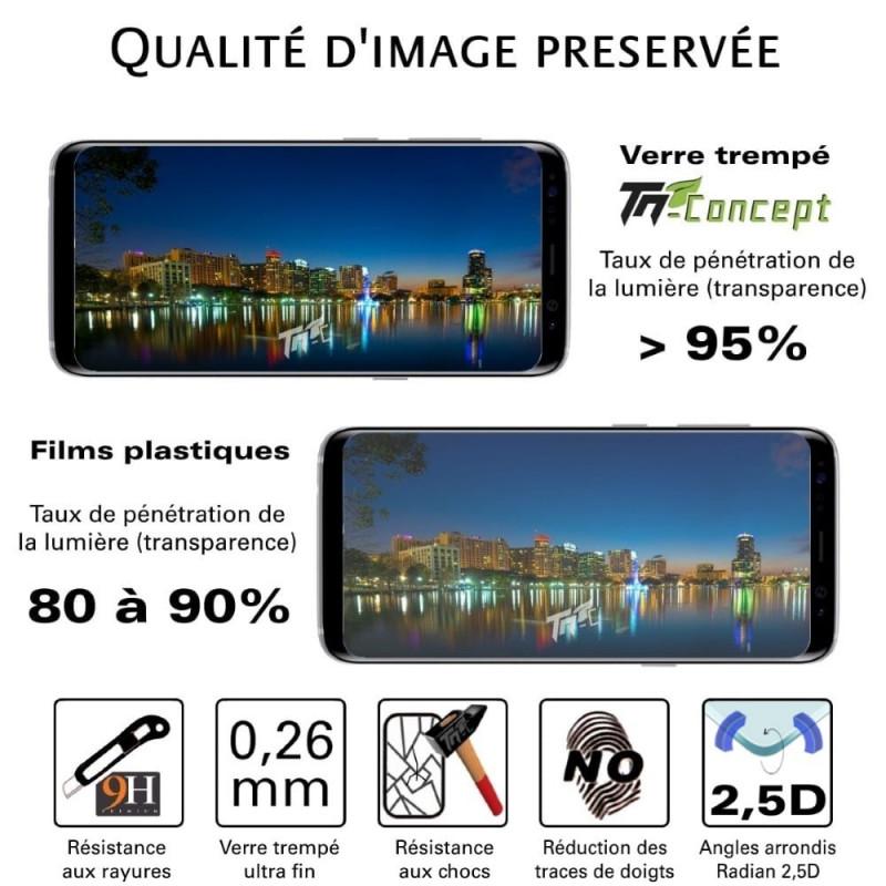BlackBerry KEYone - Vitre de Protection 3D Curved - TM Concept®