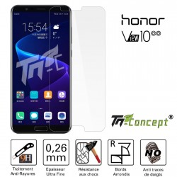 Huawei Honor View 10 - Vitre de Protection Crystal - TM Concept®