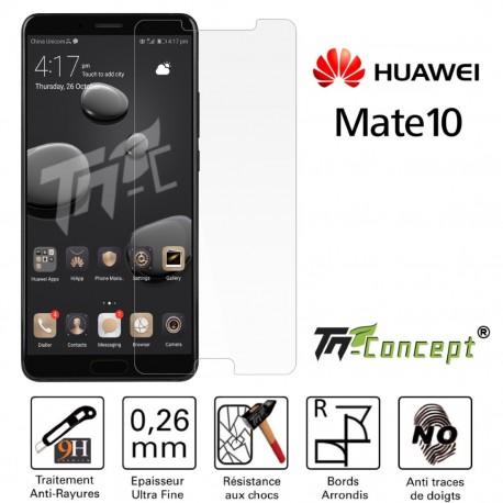 Huawei Mate 10 - Vitre de Protection Crystal - TM Concept®