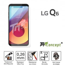 LG Q6 - Vitre de Protection Crystal - TM Concept®