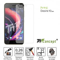 HTC Desire 10 Pro - Vitre de Protection Crystal - TM Concept®