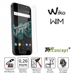 Wiko Wim - Vitre de Protection Crystal - TM Concept®