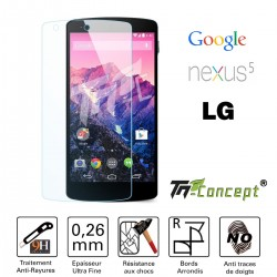 LG Google Nexus 5 - Vitre de Protection Crystal - TM Concept®