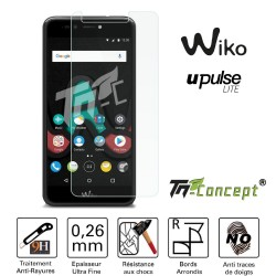 Wiko U Pulse Lite - Vitre de Protection Crystal - TM Concept®