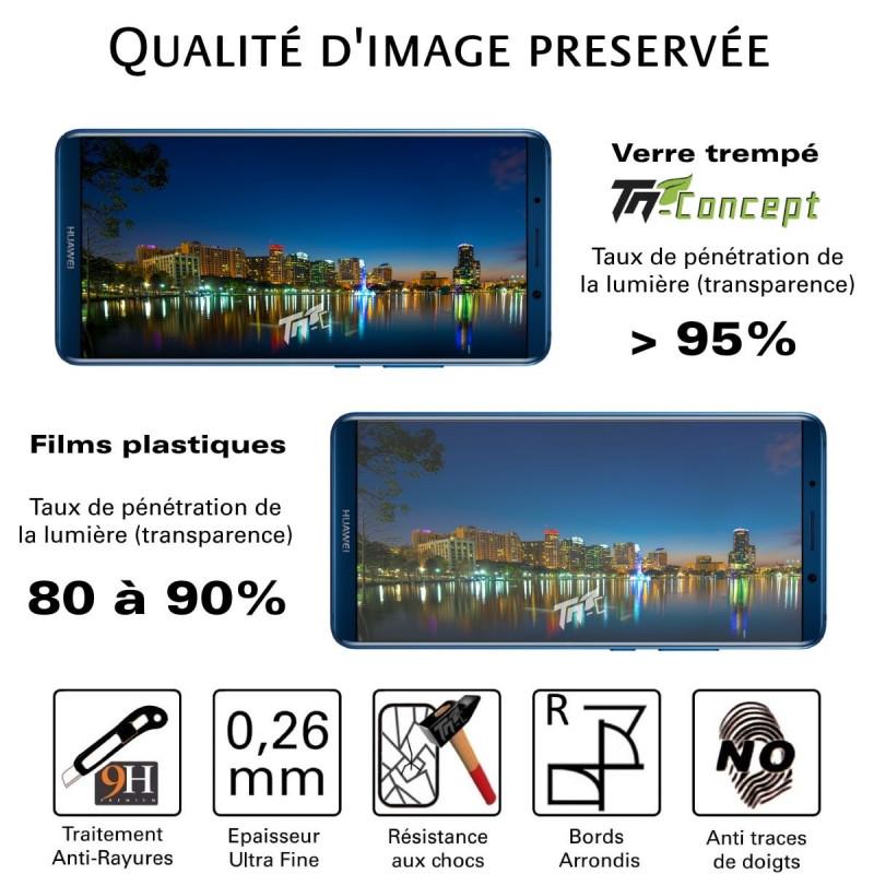 LG V30 - Vitre de Protection Crystal - TM Concept®