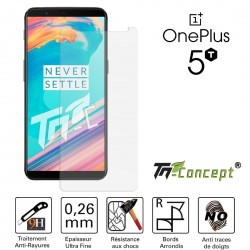 OnePlus 5T - Vitre de Protection Crystal - TM Concept®