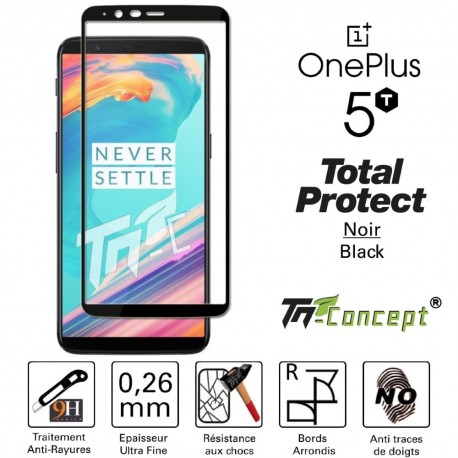 OnePlus 5T - Vitre de Protection - Total Protect - TM Concept®
