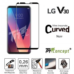 LG V30 - Vitre de Protection 3D Curved - TM Concept®