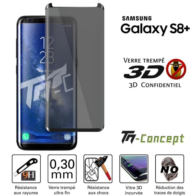 """HTC U11+ (6,0"""") - Vitre de Protection Crystal - TM Concept®"""