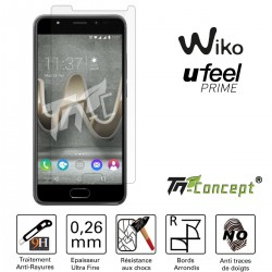 Wiko U Feel Prime - Vitre de Protection Crystal - TM Concept®