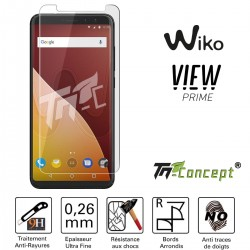Wiko View Prime - Vitre de Protection Crystal - TM Concept®