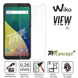 Wiko View XL - Vitre de Protection Crystal - TM Concept®