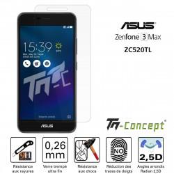 Asus Zenfone 4 Max ZC520KL - Vitre de Protection Crystal - TM Concept®