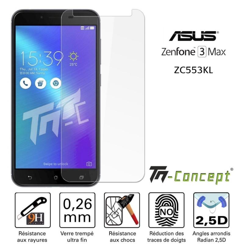Asus Zenfone Max Plus (M1) ZB570TL - Vitre de Protection Crystal - TM Concept®