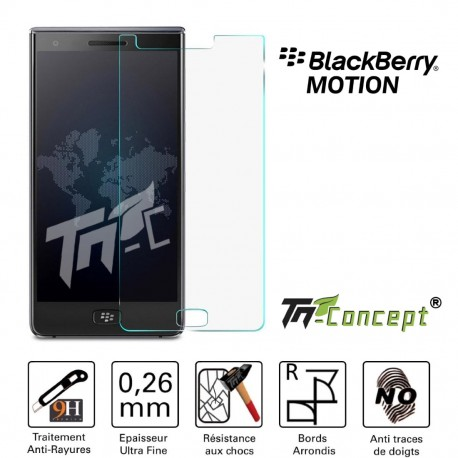 BlackBerry Motion - Vitre de Protection Crystal - TM Concept®
