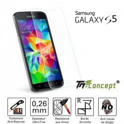 Samsung Galaxy S5 - Vitre de Protection Crystal - TM Concept®