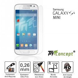 Samsung Galaxy S4 Mini - Vitre de Protection Crystal - TM Concept®