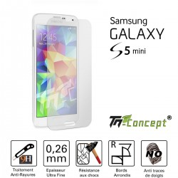 Samsung Galaxy S5 Mini - Vitre de Protection Crystal - TM Concept®