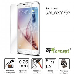 Samsung Galaxy S6 - Vitre de Protection Crystal - TM Concept®