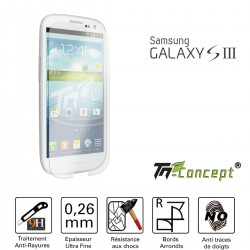 Samsung Galaxy S3 - Vitre de Protection Crystal - TM Concept®