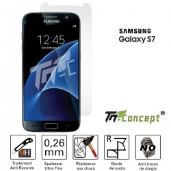 Samsung Galaxy S7 - Vitre de Protection Crystal - TM Concept®
